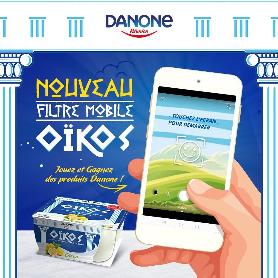 Danone Réunion agence htc Filtre OIKOS